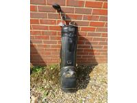 Howson golf bag and clubs