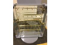 COUNTER TOP ROTATING JEWELLERY STAND FOR SHOP DISPLAY