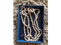 Organic circle freshwater pearls