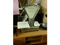 Vintage Weighting Scales can deliver or collection