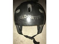 WildWater Safety Helmet Kayak Canoe Surf SUP Ski Hard Cap Water Sports Safety