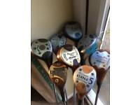 Collection of Golf woods
