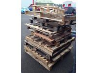 Pallets various sizes free