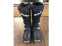 Motorcross motorbike boots