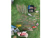 Large selection of tools, unusual drill bits and more.
