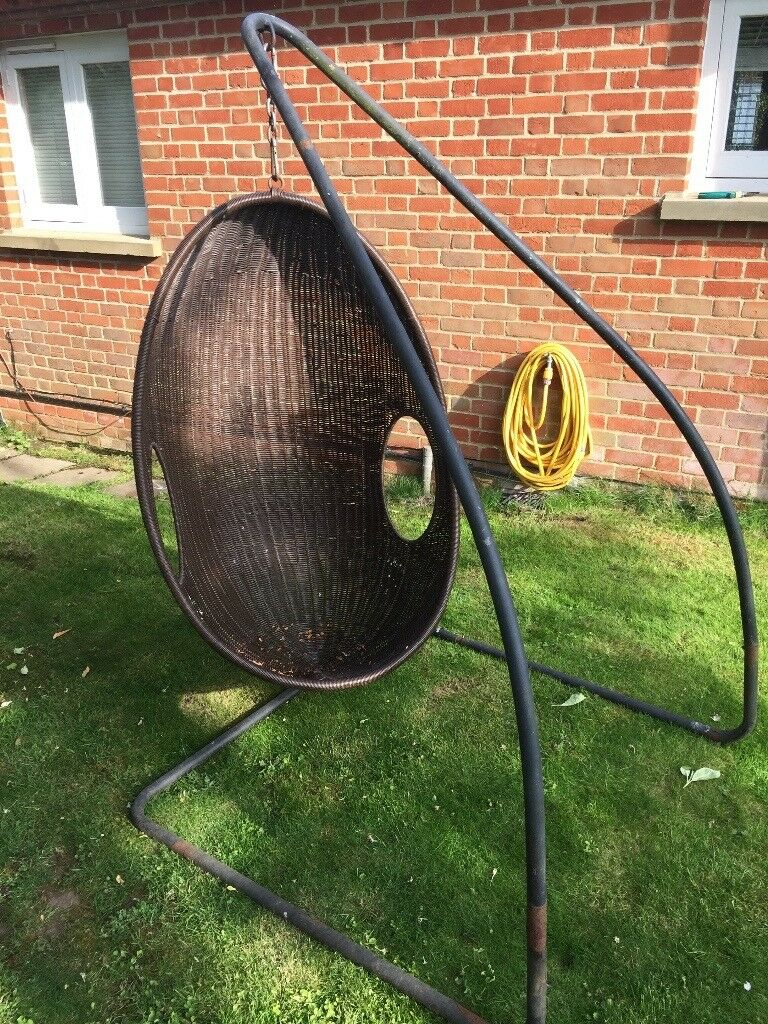 Pair of Garden Hanging Egg Chairs | in Bedford ...