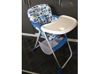 """Mothercare """"High T"""" highchair"""