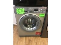 HOTPOINT 7KG DIGITAL SCREEN NEW MODEL WASHING MACHINE IN SILIVER