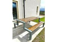 Steel Picnic Benches