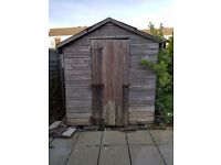 6x8 ft shed for free, in need of repair