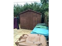 9x8 ft Shed - good condition, buyer must dismantle