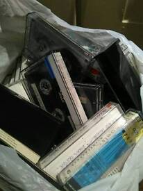 Approx 100 cassettes