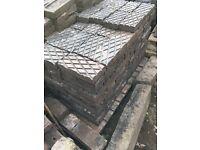 Paving stones: Victorian blue diamond pavers