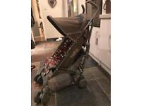 Mamas & Papas stroller with foot muff