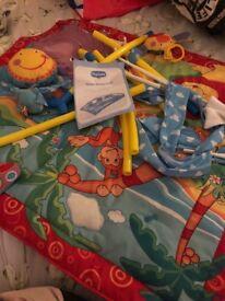 Baby play station. Gymini monkey island