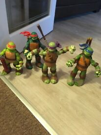 Teenage Mutant Ninja Turles X4