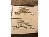 Steps / Venga Boys Leeds Tickets x2