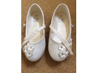 Girl's bridesmaid shoes, size 13