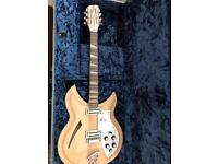 Rickenbacker 381v69 12-String Mapleglo Electric Guitar