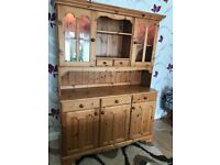 Solid pine French dresser
