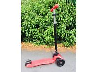 Maxi Micro Scooter-red