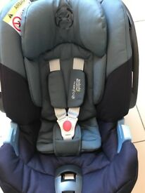 Cybex Aton 4 car seat and isofix mamas and papas