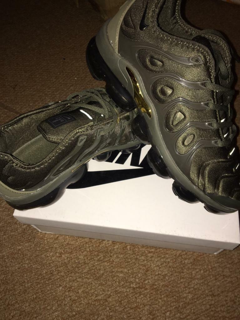 9475c37157 SIZE 7 8 9 10 11 BRAND NEW NIKE VAPORMAX PLUS BOXED TRAINERS GREEN (NOT) tn  90 110 95 97 AIR