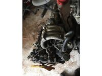 Complete engine and gearbox ford transit banana