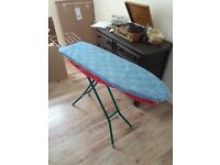Full sized collapsable ironing board