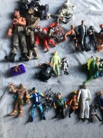 Bundle of figures toys