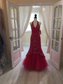 Prom / evening Gown by designer Gino Cerutti