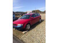 Audi A4 1.9 diesel for spares or repair