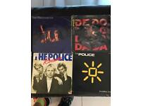 """the Police and Sting 7"""" singles(18 in total)"""