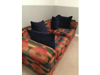 Two Large Sofas (ideal for project)