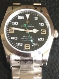 Rolex watch . Air king . Ladies