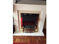 Dimplex Fireplace and Surround