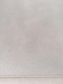 Cream fabric roller blind