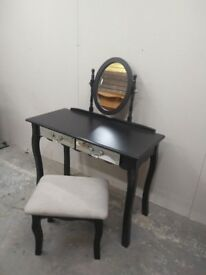 Dressing Table with Chair and Mirror