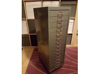 Steel 15 Drawer Filing Cabinet