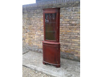 Corner display unit cabinet ##FREE LOCAL DELIVERY##