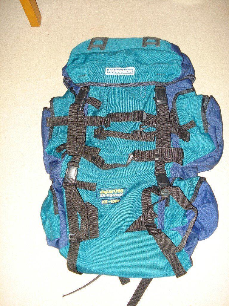 Karrimor Jagular C65 hiking back pack, never used perfect for ladies or teens, storage pockets