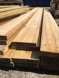 New timber wooden planks, 9x2, 15ft long