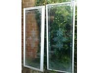 Shower door & side panel