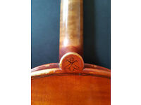 4/4 violin for sale made from luthier studied with Gio Batta Morassi