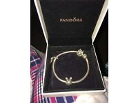 Pandora bracelet. A year old worn twice, immaculate condition.