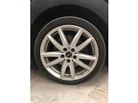 Mini Cooper alloys and tyres jcw very good condition