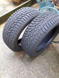Winter tyres 225.55.R18
