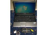 Hp/Compaq Laptop, 2.0ghz dual core, Windows 7, 250gb Hdd, Wifi, Dvdr-rw, 3Gb Memory