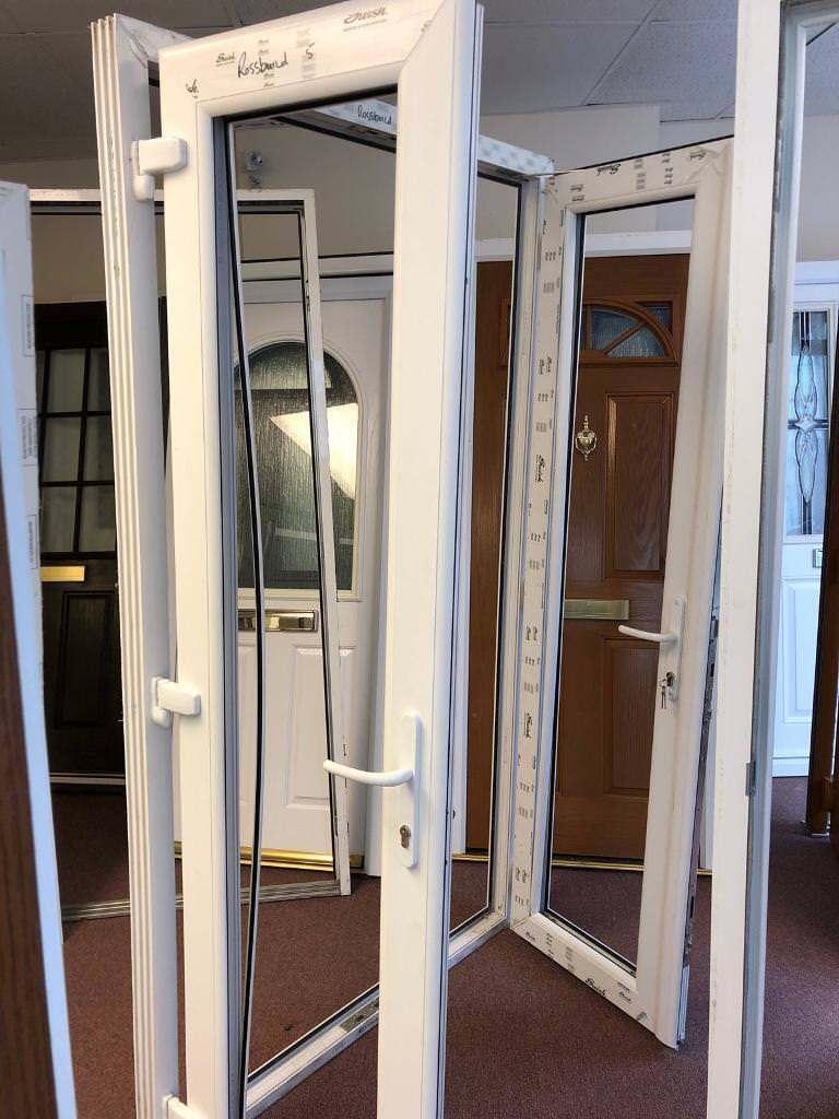 Upvc french doors white brand new in westcliff on sea essex upvc french doors white brand new rubansaba