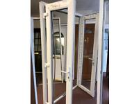 Upvc French doors white BRAND NEW